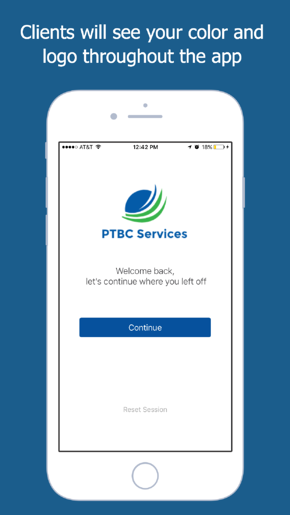Connect Mobile App Screen