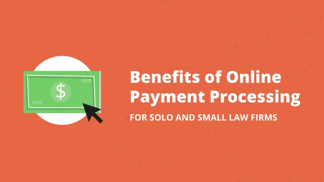 Benefits of online payment processing