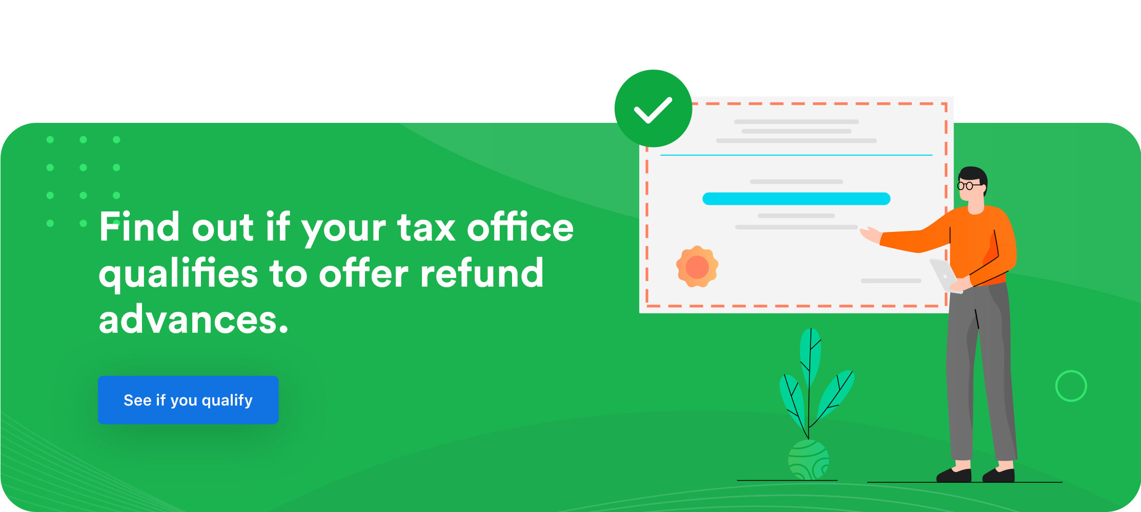Refund Advance Banner