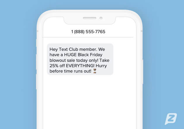 Sales Text Campaign