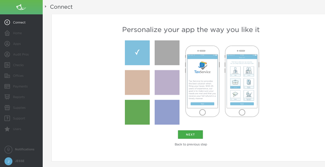 Personalize The Connect Mobile App