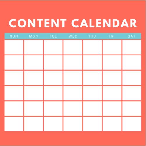 Tax Office Content Calendar
