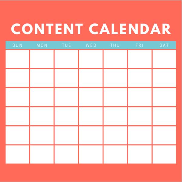 Tax Content Calendar Strategy